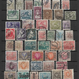 Lot timbre Polonia, Stampilat