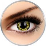 Crazy Yellow Eclipse - lentile de contact colorate verzi anuale - 360 purtari (2 lentile/cutie)