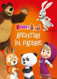 Aventuri in padure cu Masha si Ursul - Editura Litera