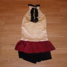 costum carnaval serbare rochie dans balet gimnastica pentru copii de 8-9 ani