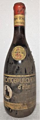 58 -VIN MONTEPULCIANO D'ABRIUZZO GRAN RISERVA, DOC, recoltare 1973 cl 72 gr 13 foto