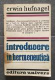Erwin Hufnagel - Introducere în hermeneutică