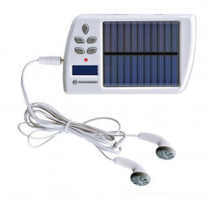 Incarcator solar cu mp3 player Bresser, micro SD inclus