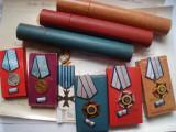 Lot medalii + ordine Meritul Militar veteran de razboi