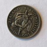i 322 NOUA ZEELANDA 1 SCHILLING 1964