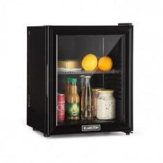 Klarstein Brooklyn 24L, frigider, ușă de sticlă, cu inserție din plastic, negru