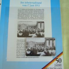 """3 Cartele Telefonice """"50 Jahre Deutschland"""" - Exponate NOI / 12"""