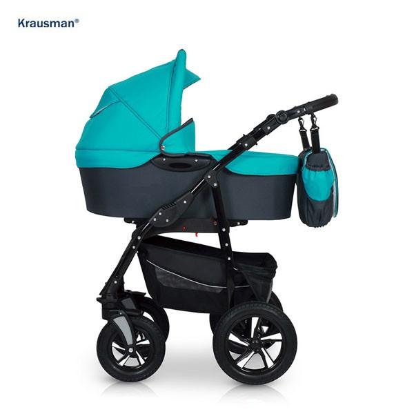 Krausman - Carucior Kraus Clasic Turqois