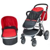 Carucior 2 in 1 Veneto rosu Kidscare for Your BabyKids