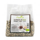 Pronat Quinoa ecologica 3x (alba, rosie, neagra), 400 g