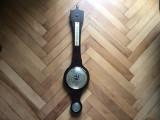 Barometru vechi german,cu termometru si higrometru