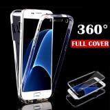 Husa protectie 360° fata + spate pt Samsung Galaxy S6 / S7 / S7 Edge