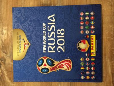 Panini World Cup 2018 Album gol Hard Cover foto
