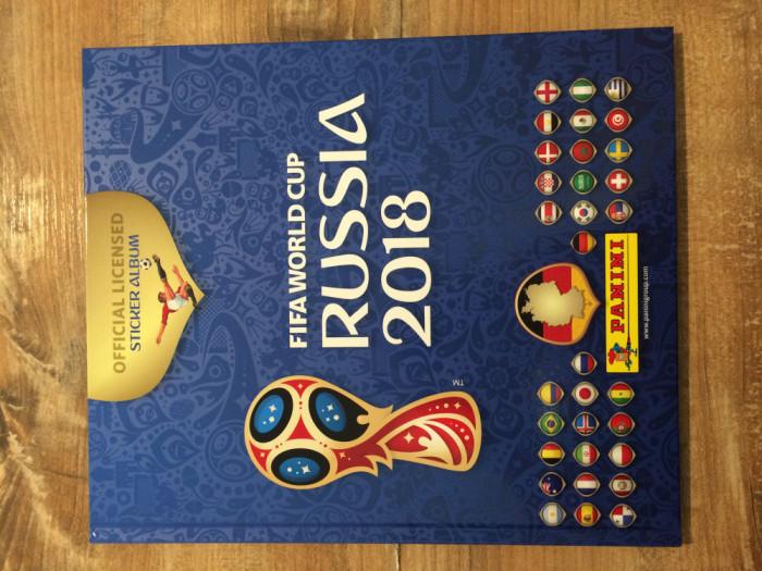 Panini World Cup 2018 Album gol Hard Cover