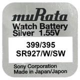 Baterie de ceas Murata 399 / 395 AG7 SR927SW 1.55V 1 Bucata /Set