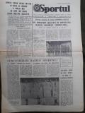 Ziarul Sportul din 21 septembrie 1977