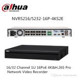 Cumpara ieftin NVR H.265 4K 16 CANALE 16 PORTURI POE DAHUA NVR5216-16P-4KS2E