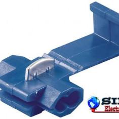 Conector Splice set 100 bucati, albastru, Fixpoint