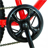 Bicicleta Trekking 26 Velors V2619A cadru otel rosu alb