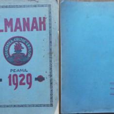 Societatea Cultul Eroilor , Comitetul Central , Almanah , 1929