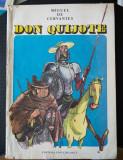 Miguel de Cervantes - Don Quijote (repovestire; il: Eugen Taru; 1986)