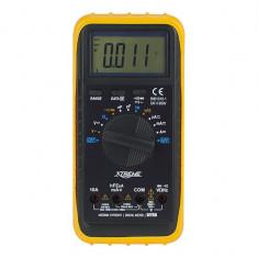 Multimetru Tensiune si Tester Multifunctional Digital Xtreme MY-68, Afisaj LCD