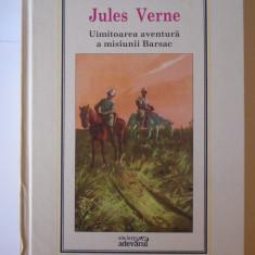 Uimitoarea aventura a misiunii Barsac - Jules Verne