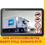 "GPS Auto Navigatie ecran 7"" AUTO,GPS TIR GPS CAMION GPS HARTI FULL EUROPA 2019"