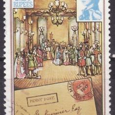 Mauritius 1985 - Aniversari 1v.stampilat,perfecta stare(z)