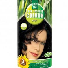 Vopsea de Par HennaPlus Long Lasting Colour Black 1