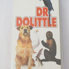Caseta video VHS originala film tradus Ro - Dr. Dolittle