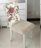 Husa spatar scaun, Heinner,HR-CHCOV-FLWPK, 47x100 cm , 100 procente Bumbac cu umplutura sintetica