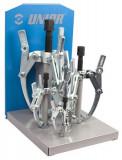 Set de extractoare cu trei brate reglabile - 682/2MS - UNIOR - 4
