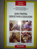 Ghid pentru cercetarea educatiei - L. Antonesei, N. L. Popa, A. V. Labar