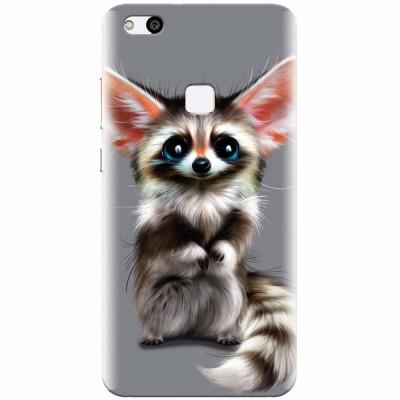 Husa silicon pentru Huawei P10 Lite, Cute Animal 001 foto