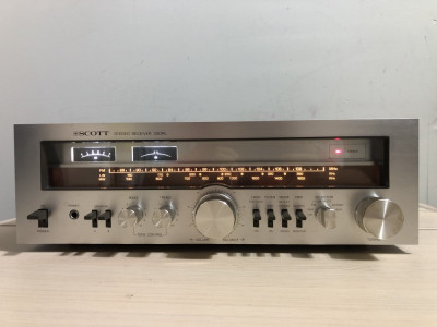 Amplituner Scott 330-RL Receiver FM/AM Tuner Amplificator Statie Radio foto