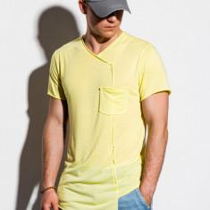 Tricou barbati S1215 - galben