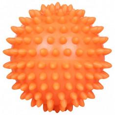 Minge masaj portocaliu 7 cm