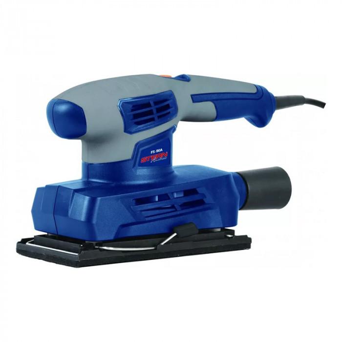 Aparat de slefuit cu vibratii Stern, 160 W, 12000 rpm, 90 x 187 mm, prindere tip Velcro