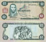 1976 , 2 dollars ( P-60b ) - Jamaica