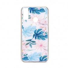 Husa Huawei P Smart 2019 iberry Marble Glitter Almond