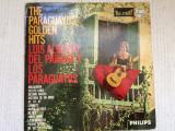 Luis alberto del parana y los paraguayos golden hits disc vinyl lp muzica latino, VINIL, Philips
