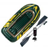 Set Barca Gonflabila INTEX Seahawk 300 295 X137 X 43 cm, PVC