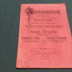 ANASTASIMATARIU CUPRINDEND SERVICIILE DE SÂMBĂTĂ SEARA ȘI DUMINICĂ DIMINEAȚA1886