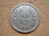 ROMANIA - 100 LEI 1932 , PARIS , Ag500 , CAROL II , LD5.86