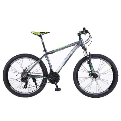Bicicleta Mountain Bike 26 inch, cadru aluminiu, 21 viteze, schimbator Shimano, suspensii furca, frane disc, PHOENIX foto