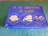 JOC VECHI ROMANESC* SĂ NE ORIENTĂM PE HARTĂ* ANII 1980