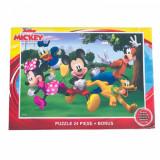 Puzzle 24 Piese + Bonus Mickey, Disney
