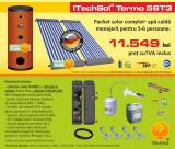 Pachet solar (kit) complet apa calda menajera pentru 5-6 persoane - calitate...