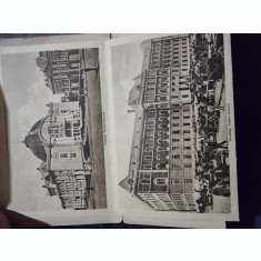 Cernauti , 10 carti postale detasabile in minialbum, perioada interbelica